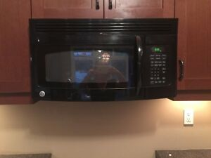 LIKE NEW GE DISHWASHER AND OVER RANGE MICROWAVE