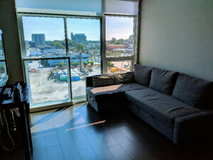 °✫ 。 Fully Furnished 1BR Apt Top of Richmond Station w Parking