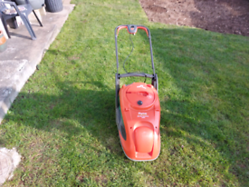 Electric flymo glide master lawn mower