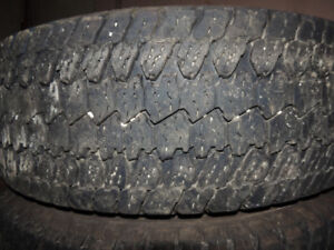 BF Goodrich Rugged Trails T/A LT245/75R17  4 tires for SALE $175
