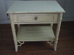 2 side tables good condition