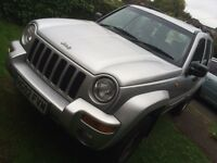 Jeep Cherokee 2.5 CRD limited 2002 101k miles