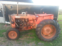 Wanted Diesel Tractor with 5 ' or larger blower