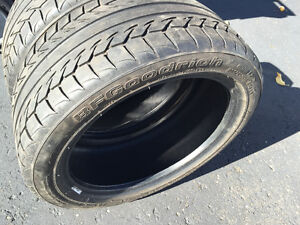 2 pneus BF Goodrich G Force 205/45/ZR16