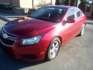 2012 Chevrolet Cruze LT Turbo+ w/1SB Sedan
