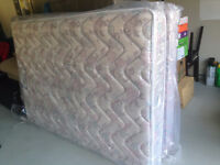 2 twin beds clean wrapped ready for pick up.  Delivery avail.
