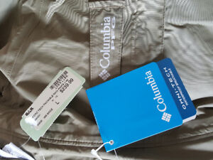 Brand New Columbia HydroTech Packable Rain Jacket
