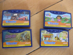 Vtech vreader with 4 games Cornwall Ontario image 2