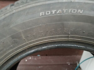 215/65/R16 Winter tires- SOLD !!!