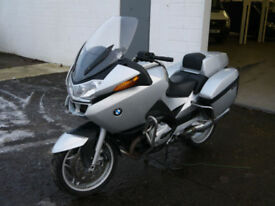 BMW R1200 RT EX POLICE MOTORCYCLE MOTORBIKE BIKE SPORTS TOURER HIGH SPEC RT1200