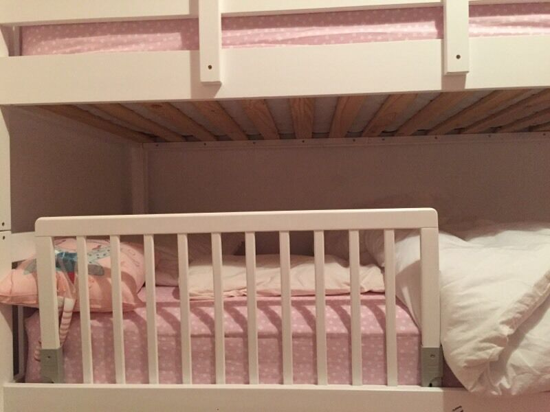 Bed Guard For Toddler Bed Or Bottom Of Bunk Beds In Hedge End