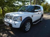 LAND ROVER DISCOVERY 4 3.0 SDV6 AUTO, REAR SEATS, SAT NAV, 89,000 MILES ONLY