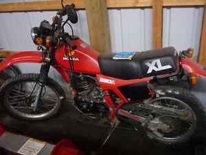 Honda 250 XL