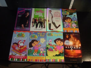 46 ENGLISH VHS MOVIES FOR KIDS AND ADULTS