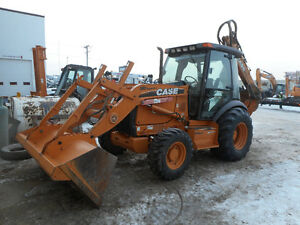 2008 Case 580SM-3 + Loader Backhoe (4925 Hrs)