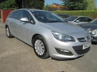 2013 63 Vauxhall Astra 1.3 CDTi S-S EcoFlex ExClusiv Silver