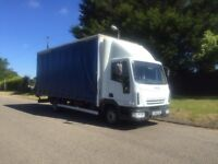2005-05-Reg Iveco eurocargo 75E17 7.5ton 20ft body 1 years mot free uk delivery