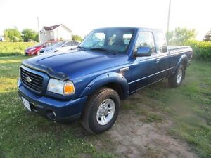 2008 Ford RANGER  X CAB 3.0L 5  SPEED NEW TIRE MVI