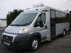 FIAT DUCATO 3.0JTD 160BHP XLWB DISABLED ACCESS WELFARE BUS COACH CAMPER VAN
