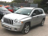 2007 Jeep Compass 2.0CRD Limited***CAMBELT CHANGED AT 81K + 12 MONTHS MOT***
