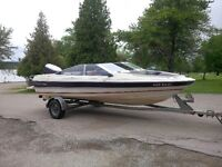 1986 19' Bayliner Bowrider with trailer