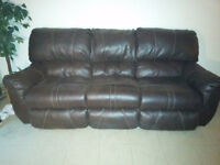 "Sofa & Love Seat recliners from ""Ashley's Furniture"""