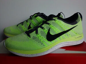 Nike Flyknit Lunar One + Volt Size 8.5 Brand New