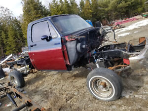 1984 Chevy Silverado parts truck/ project with 6 inch lift
