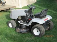 Riding lawn tractor for sale