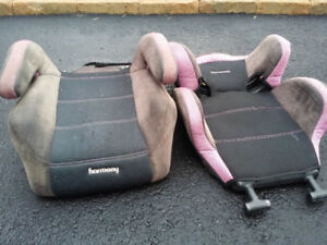Car seat/ booster/ siege d appoint demontable for girl 2-7 y.o.