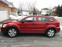2007 Dodge Caliber SXT with towing hitch & wiring