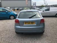 AUDI A3 1.6 SPECIAL EDITION 16V LOW INSURANCE FINANCE PARTX WELCOME