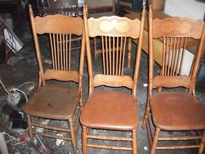 3 Nice Pressback Chairs