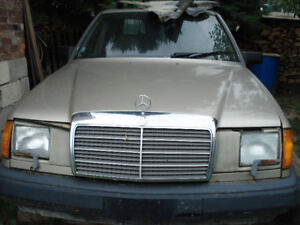 parting out diesel Mercedes W124, OM603