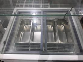 Ice cream fridge 4 pan