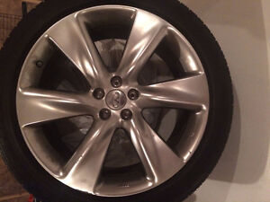 ENKEI Infiniti FX50 Rims & Tires
