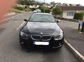 BMW 325d m sport coupe 3.0 turbo diesel px car or bike cash either way
