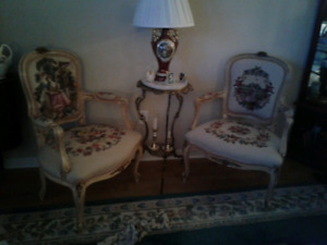 Variety of chairs
