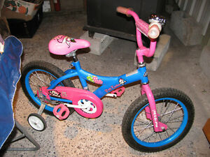 GIRL'S PINK COOKIE BIKE--EXCELLENT CONDITION