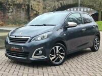 2015 Peugeot 108 1.2 PURETECH ALLURE TOP 5d 82 BHP Hatchback Petrol Manual
