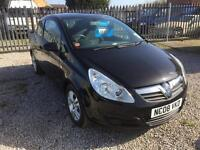 Vauxhall Corsa 2008 1.0 EDS With Only 70586 Miles