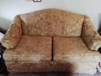 Lovely vintage style two seater couch