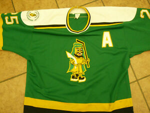 Prince Albert Raider 1995-96 Season Game Worn Home Jersey