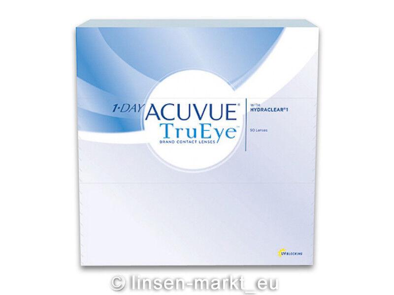 1-Day-Acuvue TruEye moderne Premium-Tageslinsen 1x90