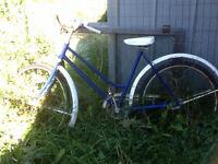 Good old bike ladies & mans bicycle
