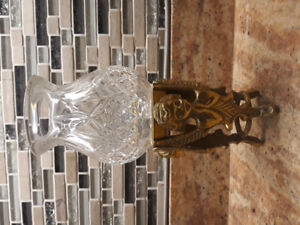 Angel themed Brass candle holder