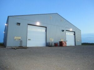 Estevan Heated Shop 40 x 60