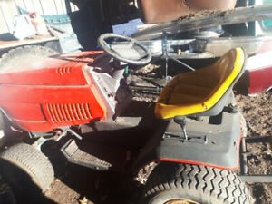 20hp lawn tractor with tiller