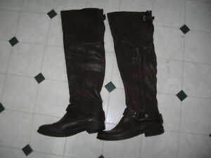 New Victoria Secret Leather Boots