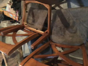 Dining room chair frames